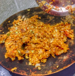 Egg Kothu Parotta from my kitchen