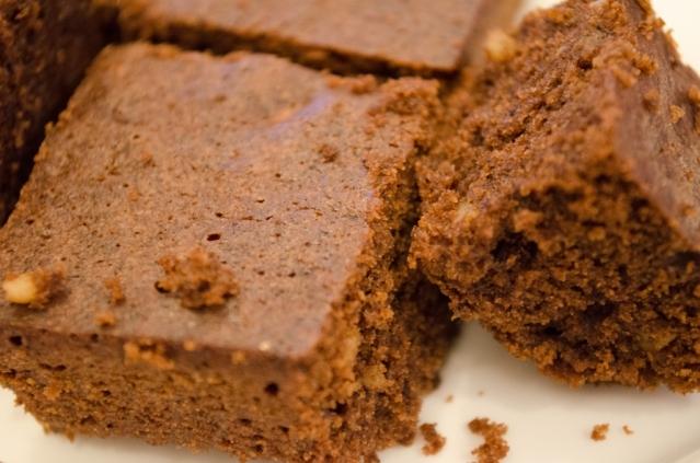 compressed brownie