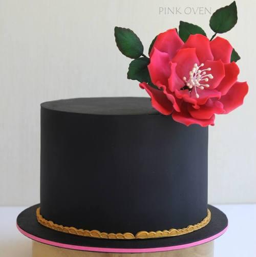 Verve - fondant cake